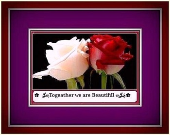 "Together We Are Beautiful"" ecard"