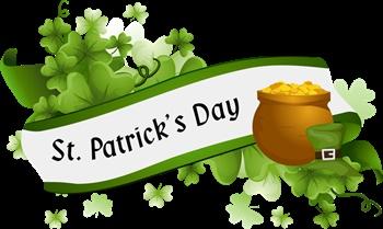 St Patrick's Day ecard