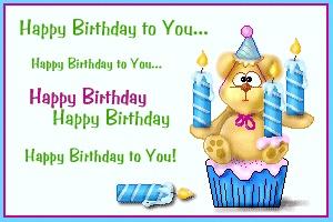 С днем рождения поздравления по английскому языку