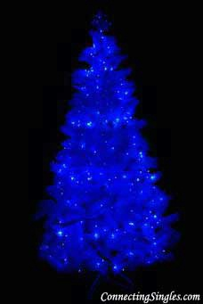 Blue Christmas without you ecard