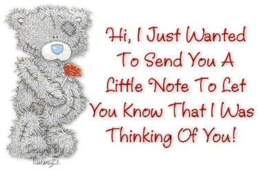 I just wanted you to know I am thinking of you eCard