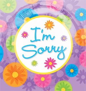 I am so so so sorry ecard