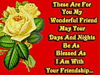 For a friend like you ecard