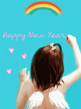 Happy New Year from an Angel! ecard