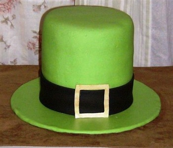 St Patricks Day Birthday Cake ECard