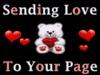 sending love ecard