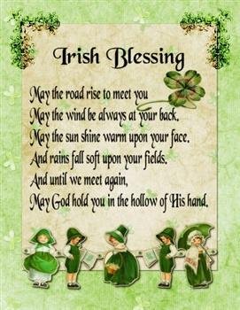 Irish Blessing ecard