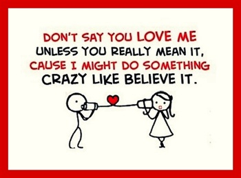 Don't Say U Love Me UNLESS... ecard