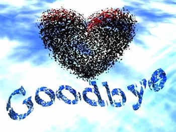 Good Bye ecard