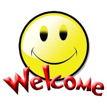Welcome ecard