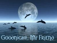 Good Night My Friend Ecard