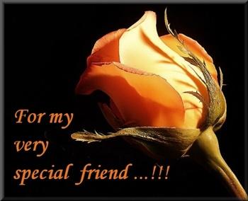 4 my very special friend... ecard