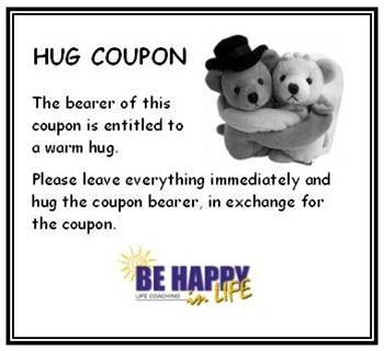 HUG Coupon ecard