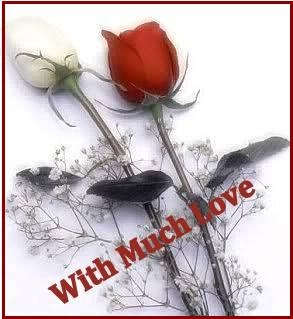 """""""With Much Love """" ecard"""