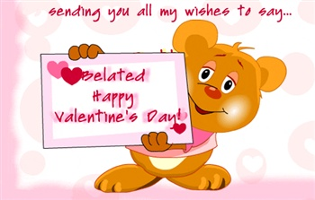 Image result for happy belated valentines day images
