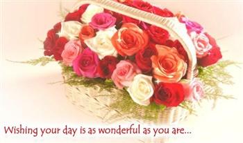 Wonderful day ecard