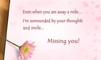Missing You ecard