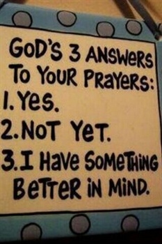 THE ANSWER TO YOUR PRAYERS ecard