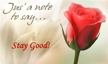 Stay Good ecard