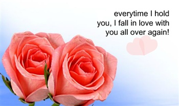 Fall in love ecard