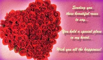 Wish U all the happiness ecard