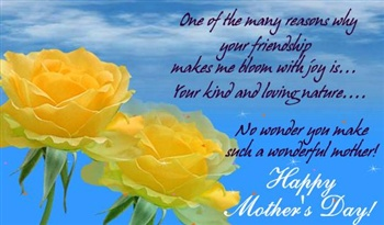 Mother's Day 4 Friend ecard