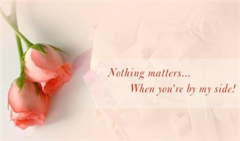Nothing matters... ecard