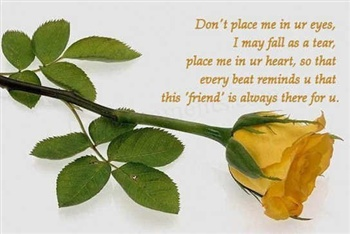 Place me in your Heart ecard