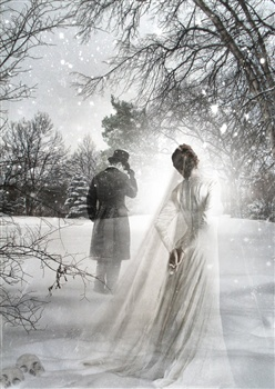 A Love Of A Winters Ghost ecard