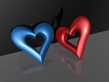 Loving Hearts ecard