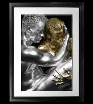 Silver And Gold ecard