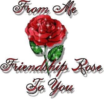 Friendship Rose ecard
