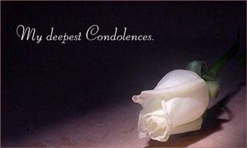 condolences ecard