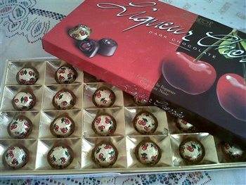 chocolates for my love ecard