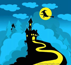Halloween's in the air ecard