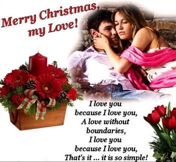 Merry Christmas My Love.Merry Christmas My Love Ecard
