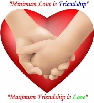 Minimum Love is Friendship ecard