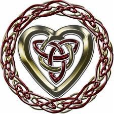 Celtic Heart ecard