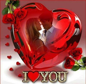 """I say """" I love you """" ecard"""