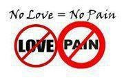 no love=no pain ecard