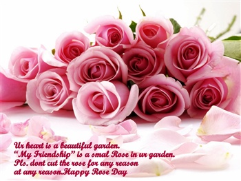 Rose-Day ecard