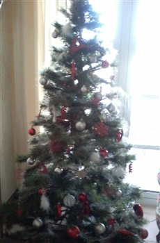 Christmas tree ecard