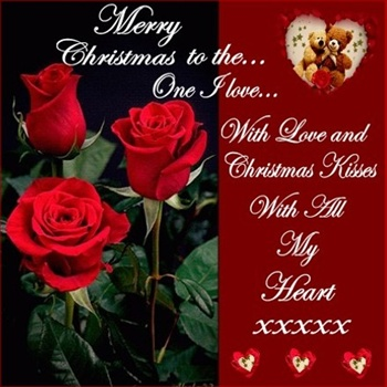 Merry Christmas To The One I Love! ecard