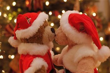 A Christmas Kiss.A Christmas Kiss Ecard