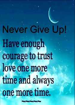 Never Give Up! ecard