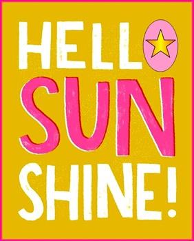 Hello Sunshine... ecard