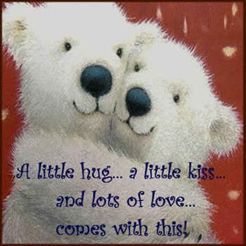 A little hug coming your way! ecard