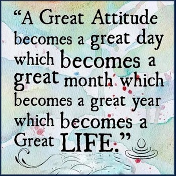A Great Attitude. ecard