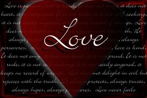 love is a symbol of eternity ecard