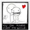 U can always make me SMILE D eCard